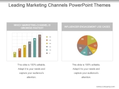 Leading Marketing Channels Powerpoint Themes