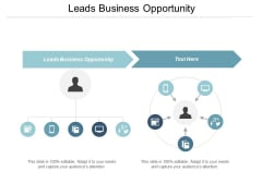 Leads Business Opportunity Ppt PowerPoint Presentation Summary Graphics