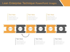 Lean Enterprise Technique Powerpoint Images