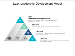 Lean Leadership Development Model Ppt PowerPoint Presentation Inspiration File Formats Cpb