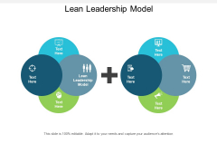Lean Leadership Model Ppt PowerPoint Presentation Inspiration Maker Cpb