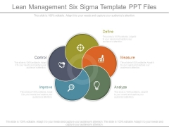 Lean Management Six Sigma Template Ppt Files