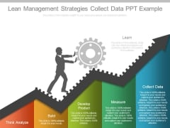 Lean Management Strategies Collect Data Ppt Example