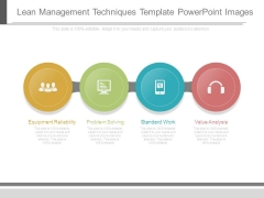 Lean Management Techniques Template Powerpoint Images