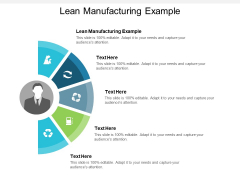 Lean Manufacturing Example Ppt PowerPoint Presentation Visual Aids Styles Cpb