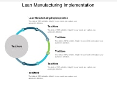Lean Manufacturing Implementation Ppt PowerPoint Presentation Infographics Templates Cpb