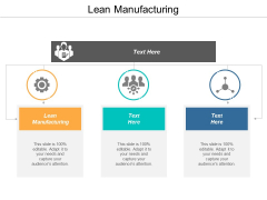 Lean Manufacturing Ppt PowerPoint Presentation Gallery Example Topics Cpb