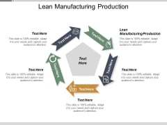 Lean Manufacturing Production Ppt PowerPoint Presentation Inspiration Clipart Images Cpb