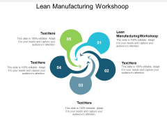 Lean Manufacturing Workshoop Ppt PowerPoint Presentation Professional Sample Cpb