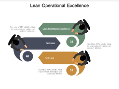 Lean Operational Excellence Ppt PowerPoint Presentation Pictures Design Ideas Cpb