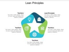 Lean Principles Ppt PowerPoint Presentation Model Layout Ideas Cpb