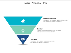 Lean Process Flow Ppt PowerPoint Presentation Layouts Example Introduction Cpb