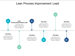Lean Process Improvement Lead Ppt PowerPoint Presentation Professional Background Image Cpb