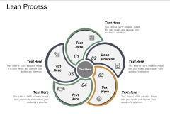 Lean Process Ppt PowerPoint Presentation Icon Display Cpb