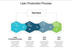 Lean Production Process Ppt PowerPoint Presentation Slides File Formats Cpb