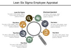 Lean Six Sigma Employee Appraisal Ppt PowerPoint Presentation File Objects