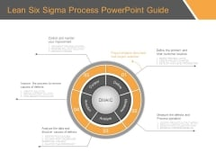Lean Six Sigma Process Powerpoint Guide