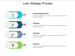 Lean Strategy Process Ppt PowerPoint Presentation Outline Tips Cpb