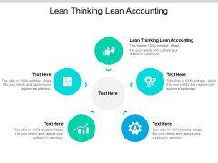 Lean Thinking Lean Accounting Ppt PowerPoint Presentation Ideas Icon Cpb