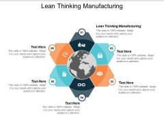 Lean Thinking Manufacturing Ppt PowerPoint Presentation Styles Model Cpb