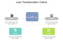 Lean Transformation Culture Ppt PowerPoint Presentation Inspiration Example Introduction Cpb