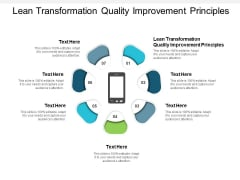 Lean Transformation Quality Improvement Principles Ppt PowerPoint Presentation Show Graphic Images Cpb