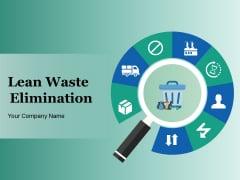 Lean Waste Elimination Ppt PowerPoint Presentation Complete Deck With Slides