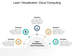 Learn Virtualization Cloud Computing Ppt PowerPoint Presentation Outline Example Cpb