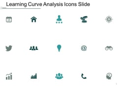 Learning Curve Analysis Icons Slide Management Ppt Powerpoint Presentation Summary Influencers