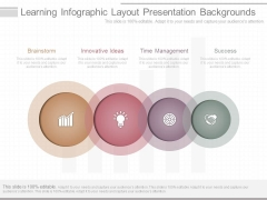 Learning Infographic Layout Presentation Backgrounds