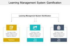 Learning Management System Gamification Ppt PowerPoint Presentation Infographic Template Portfolio Cpb Pdf