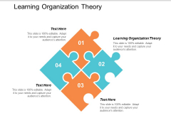 Learning Organization Theory Ppt Powerpoint Presentation Infographics Microsoft Cpb
