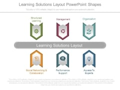 Learning Solutions Layout Powerpoint Shapes