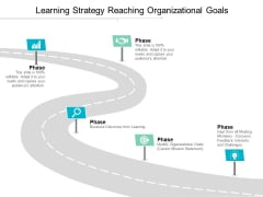 Learning Strategy Reaching Organizational Goals Ppt PowerPoint Presentation Model Show