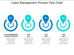 Leave Management Process Flow Chart Ppt PowerPoint Presentation Layouts Examples Cpb