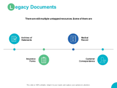 Legacy Documents Insurance Forms Ppt PowerPoint Presentation Icon