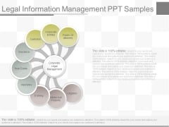 Legal Information Management Ppt Samples