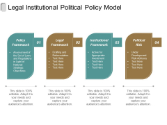 Legal Institutional Political Policy Model Ppt Powerpoint Presentation Outline Layout