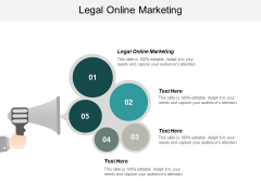 Legal Online Marketing Ppt PowerPoint Presentation Icon Guide Cpb
