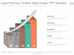 Legal Planning Timeline Slide Design Ppt Samples