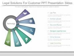 Legal Solutions For Customer Ppt Presentation Slides