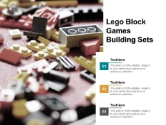 Lego Block Games Building Sets Ppt Powerpoint Presentation Inspiration Layouts