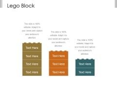 Lego Block Ppt PowerPoint Presentation Files