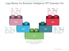 Lego Blocks For Business Intelligence Ppt PowerPoint Presentation Example File