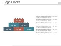 Lego Blocks Ppt PowerPoint Presentation Model