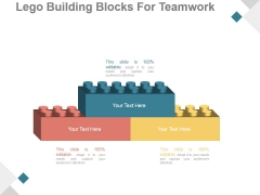 Lego Building Blocks For Teamwork Ppt PowerPoint Presentation Example 2015