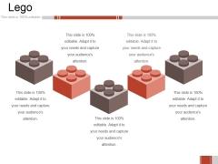 Lego Ppt PowerPoint Presentation Icon Deck