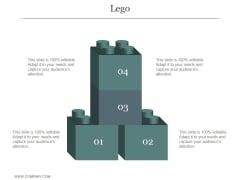Lego Ppt PowerPoint Presentation Icon