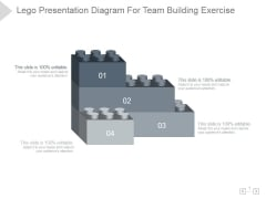 Lego Presentation Diagram For Team Building Exercise Ppt PowerPoint Presentation Background Image