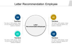 Letter Recommendation Employee Ppt PowerPoint Presentation Professional Skills Cpb Pdf